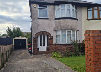 Thumbnail 3 bed semi-detached house to rent in Badminton Road, Newport