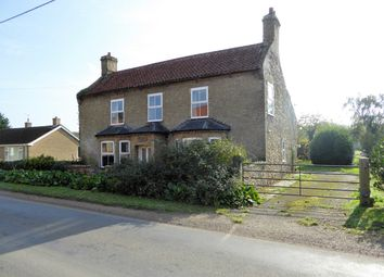 Thumbnail 4 bed detached house for sale in Low Road, Wretton, King's Lynn