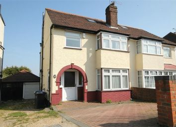 Thumbnail 4 bed semi-detached house for sale in Alder Grove, Dollis Hill