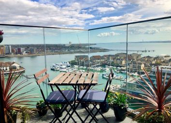 Thumbnail 3 bed flat to rent in Admirals Quay, Ocean Village, Southampton, Hampshire