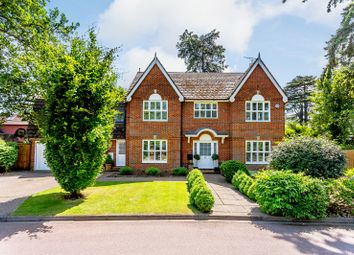 Thumbnail 5 bed detached house for sale in The Alders, West Byfleet