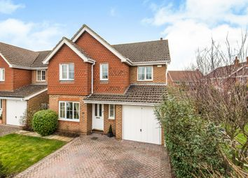 Thumbnail 4 bed detached house for sale in Danesfield, Ripley, Woking, Surrey
