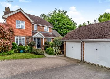 Thumbnail 4 bed detached house for sale in Bell Farm Gardens, Barming, Maidstone