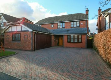 Thumbnail 4 bed detached house for sale in Burnside, Hale Barns, Altrincham