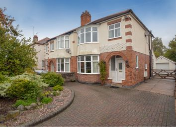 Thumbnail 3 bed semi-detached house for sale in Harbury Street, Burton-On-Trent