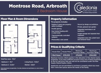 Thumbnail 2 bed property for sale in Montrose Road, Arbroath