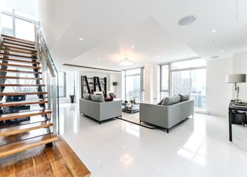 Thumbnail 4 bedroom flat for sale in Pan Peninsula Square, London