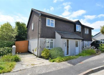 Thumbnail 2 bed semi-detached house for sale in Little Oaks, Penryn