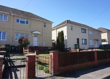 Thumbnail 3 bed semi-detached house to rent in Gardner Close, Pontypridd