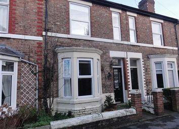 Thumbnail 2 bed terraced house to rent in Heath Street, Stockton Heath, Warrington