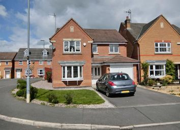Thumbnail 4 bed detached house for sale in Hampton Close, Coalville, Leicestershire