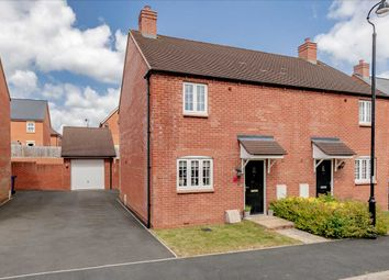 Thumbnail 3 bed semi-detached house for sale in Glebe Road, Roade, Northampton