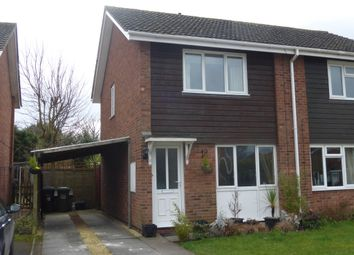 Thumbnail 2 bed semi-detached house for sale in Barneby Avenue, Bartestree, Hereford