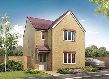 "Thumbnail 3 bed detached house for sale in ""The Hatfield"" at Bridgend Road, Bryncae, Llanharan, Pontyclun"