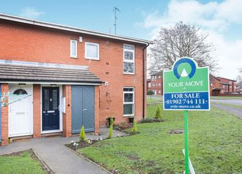 Thumbnail 2 bed flat for sale in Coleridge Drive, Wolverhampton