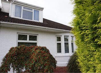 Thumbnail 3 bedroom semi-detached bungalow for sale in Glasgow Road, Paisley