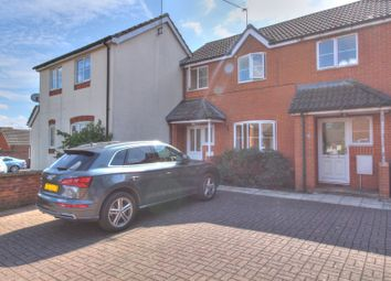 Thumbnail 2 bed town house for sale in Morrison Court, Home Close, Kibworth, Leicester