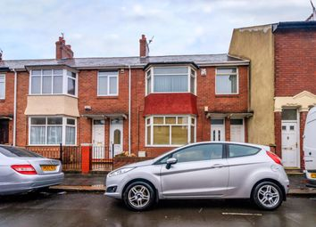Thumbnail 2 bed flat for sale in Coronation Street, Wallsend