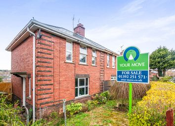 Thumbnail 3 bed semi-detached house for sale in Hoker Road, Exeter
