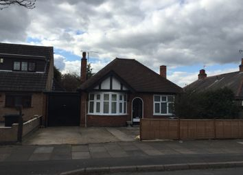 Thumbnail 2 bed bungalow to rent in Edgehill Road, Leicester