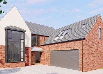 Thumbnail 4 bed detached house for sale in Moor Croft, Crowle, Scunthorpe