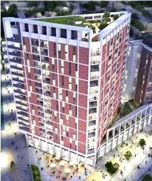 Thumbnail 3 bed flat for sale in Discovery Tower, Hallsville Quarter
