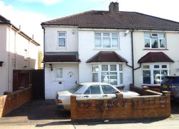 Thumbnail 3 bed semi-detached house for sale in Red Lion Road, Tolworth, Surbiton