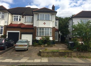 Thumbnail 3 bedroom semi-detached house to rent in Manor Drive, Southgate, London