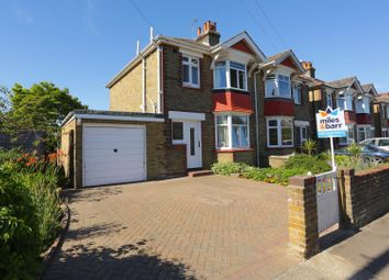 Thumbnail 3 bed semi-detached house for sale in Fair Street, Broadstairs