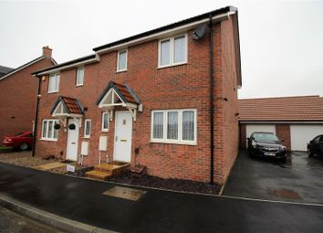 Thumbnail 3 bedroom semi-detached house for sale in Malone Avenue, St Andrews Ridge, Swindon