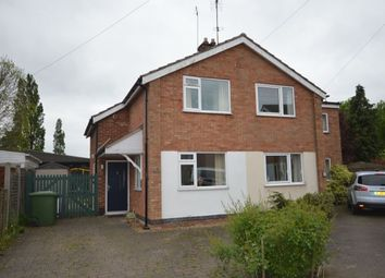 Thumbnail 2 bed semi-detached house for sale in Manor Road, Cosby, Leicester