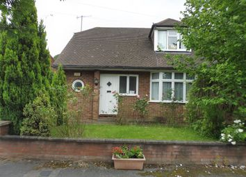 Thumbnail 2 bedroom semi-detached bungalow for sale in Alwyn Close, Luton