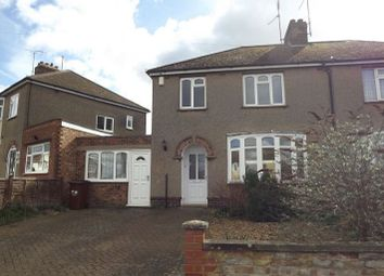 Thumbnail 3 bed semi-detached house to rent in Greenhills Road, Northampton, Northamptonshire