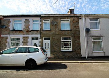 Thumbnail 2 bed terraced house for sale in Vaughan Street, Pwllgwaun, Pontypridd