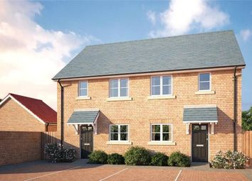 Thumbnail 2 bed semi-detached house for sale in Sapphire Gardens, Worlington Road, Mildenhall, Bury St Edmunds