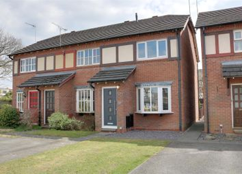 Thumbnail 2 bed mews house for sale in Rye Close, Alsager, Stoke-On-Trent
