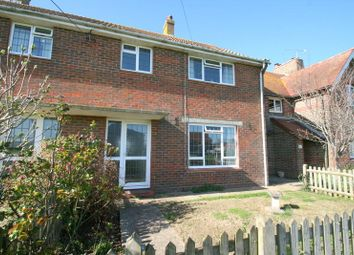 Thumbnail 3 bed detached house to rent in Rectory Lane, Angmering, Littlehampton