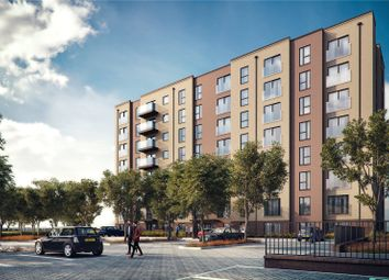Thumbnail 1 bedroom flat for sale in Saxon Square, Kimpton Road, Luton, Bedfordshire
