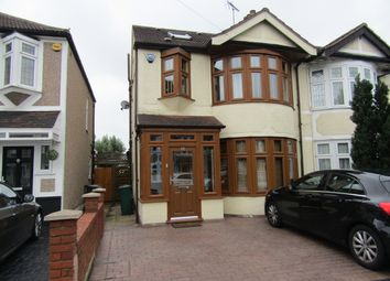 Thumbnail 4 bed semi-detached house for sale in Cedar Road, Hornchurch