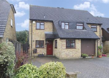 Thumbnail 3 bed semi-detached house for sale in Pepys Close, Ickenham