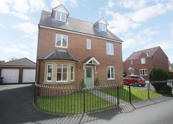 Thumbnail 4 bedroom detached house for sale in Cloverfield, West Allotment, Newcastle Upon Tyne