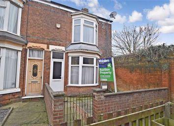 Thumbnail 2 bedroom end terrace house for sale in Chestnut Avenue, Montrose Street, Hull