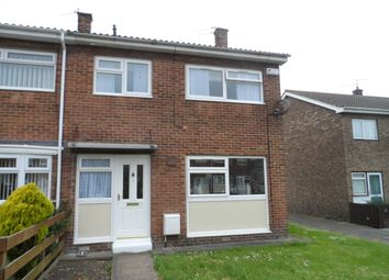Thumbnail 3 bed semi-detached house for sale in Chichester Close, Ashington