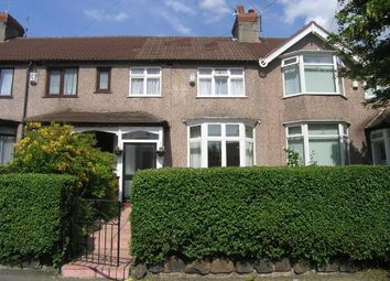 Thumbnail 3 bed terraced house for sale in Vale Road, Woolton, Liverpool