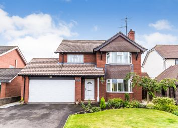 Thumbnail 4 bed detached house for sale in Brackendale, Leek