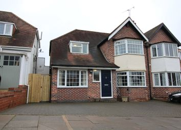Thumbnail 3 bedroom semi-detached house for sale in Pereira Road, Harborne, Birmingham