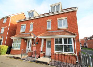 Thumbnail 4 bedroom semi-detached house for sale in Armstrong Way, York