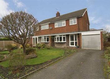 Thumbnail 3 bed semi-detached house for sale in Meadow Avenue, Congleton