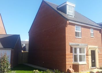 Thumbnail 4 bed detached house to rent in Royal Drive, Bridgwater