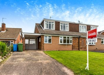 Thumbnail 3 bedroom semi-detached bungalow for sale in Marston Road, Wheaton Aston, Stafford